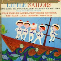 LP jacket for Folk Songs for Little Sailors